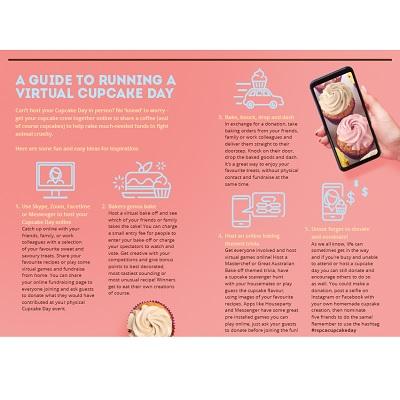 Virtual Cupcake Day Poster